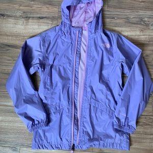 Hooded North Face Rain Jacket